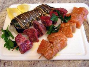 Junetina i morski plodovi